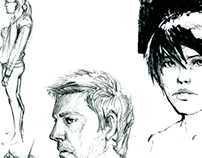 Sketches: Faces and Observations