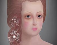 Ilustración María Antonieta de Austria