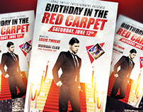 Birthday in the Red Carpet
