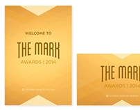 The Mark Awards 2014 Event Collateral