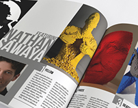 Nathan Sawaya Editorial
