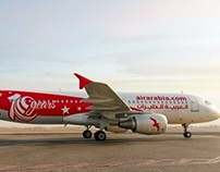 Exterior Design: Air Arabia