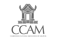 Cambodian Cultural Association of Memphis Logo