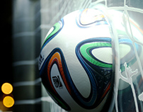 Adidas - World Cup 2014 Brazuca Billboard Design