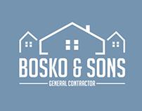 Bosko & Sons Contracting (Branding + Stationary)