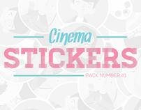 Cinema Stickers #1