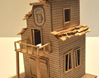 Balsa Pub Sculpture