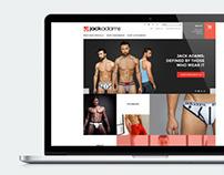Jack Adams USA E-Commerce Website Design