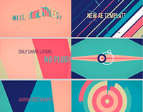 Candy Titles // Videohive