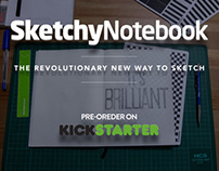 SketchyNotebook | The Revolutionary New Way to Sketch