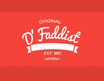 Faddist Brand Identity