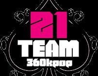 21TEAM & VIPTEAM @360KPOP Logos