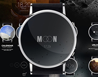 MOON smart watch project