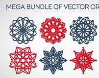 MEGA BUNDLE OF VECTOR ORNAMENTS