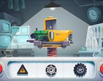 """""""Assembling Cars"""" app game, Kizipad"""