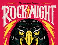 Rock Night Poster