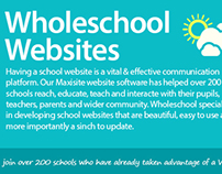Website graphics for Wholeschool