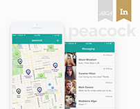 Peacock - A Hyperlocal social network