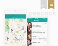 Peacock - A Hyperlocal social network