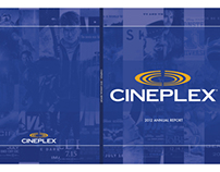 Cineplex - Annual Report Design