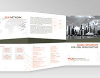 GRAPHICS | Company 3 fold brochure