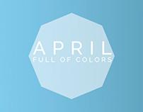 April, Full of Colors