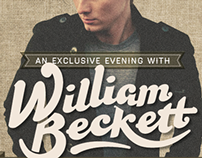 WILLIAM BECKETT Live in Singapore Poster