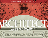 ARCHITECTS Live In Singapore Poster