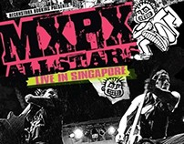 MXPX ALLSTARS Live In Singapore Poster