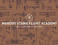 MANDIRI UTAMA FLIGHT ACADEMY Logo & Decal Design