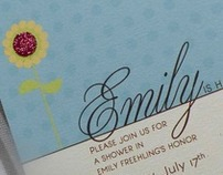 Emily Shower Invitation