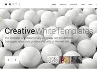 WHITE - Creative  Theme