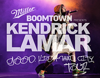 Miller Genuine Draft  Kendrick Lamar SA Tour