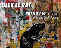Blek le Rat - Solo show