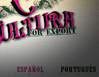 Cultura for Export, Website | Forma iD