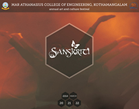 Mini Brochure Design | Sanskriti '14