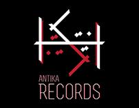 Antika Music Records Identity