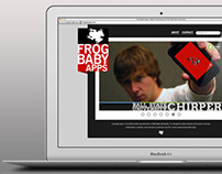 Frog Baby Apps Website