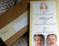 Twin Party Invitation