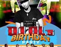 DJ OL's Birthday Party