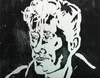 Woodcut Portrait