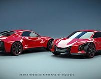 Blendeox EV concept car