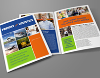 Logistics Services Bi-Fold Brochure Vol.2