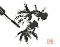 Make-up meets Chinese art