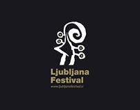 Ljubljana Festival - visual identity proposal