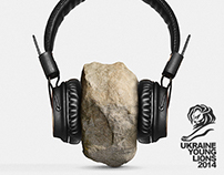 MARSHALL HEADPHONES / CANNES YOUNG LIONS / UKRAINE