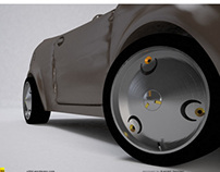 """V8S3"" car rims concept"