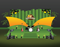 Congo Grille Stage Layout