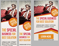 Multipurpose Business Web Banners