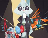 Websupport.sk Easter Illustration